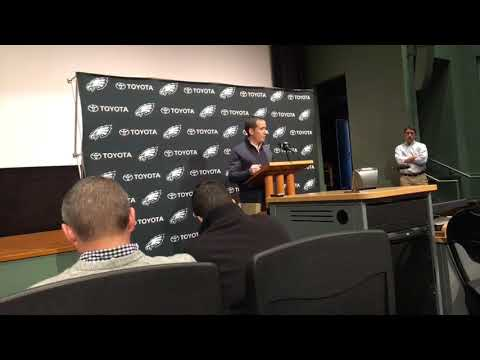 Philadelphia Eagles EVP Howie Roseman discusses Jay Ajayi trade
