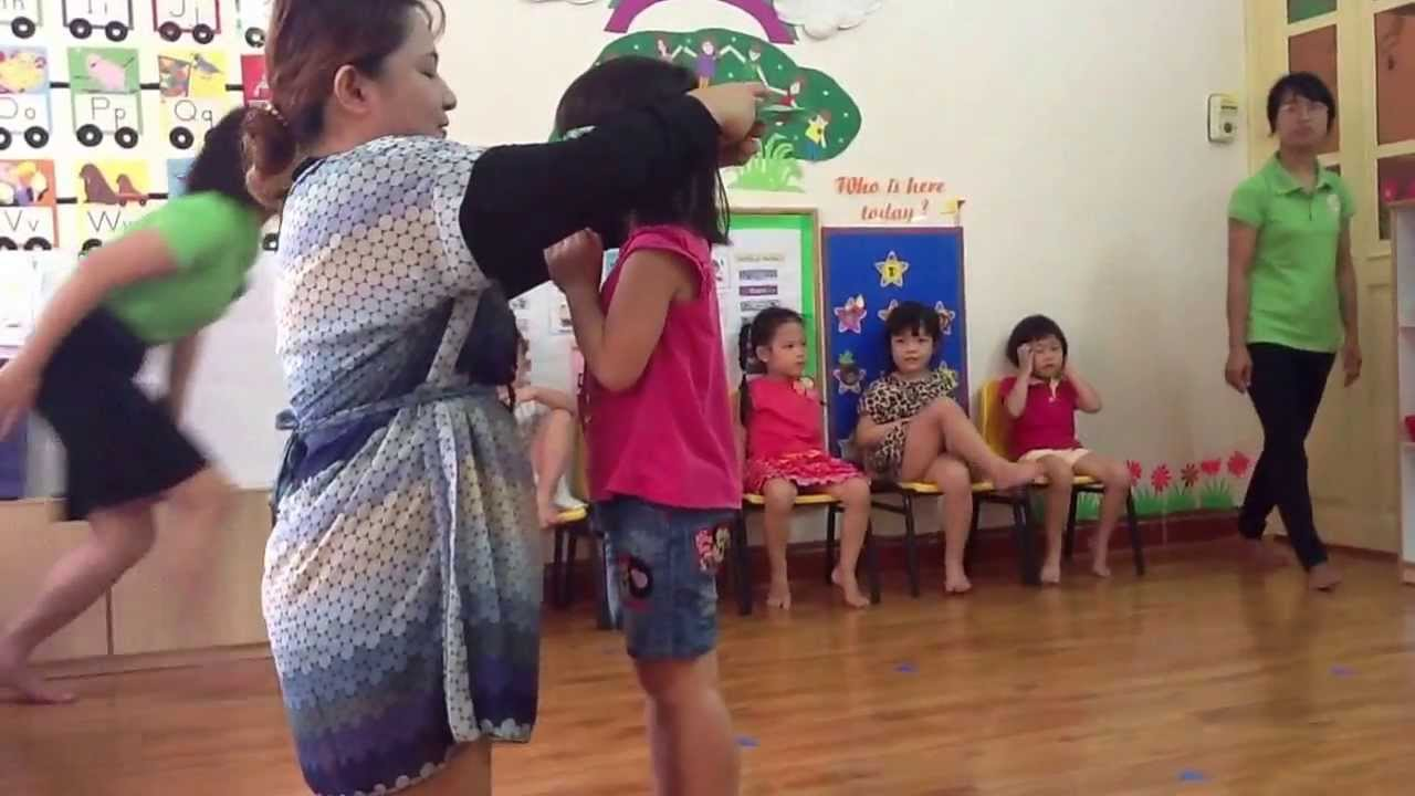 Fun Activity Of Kindergarten Class Youtube