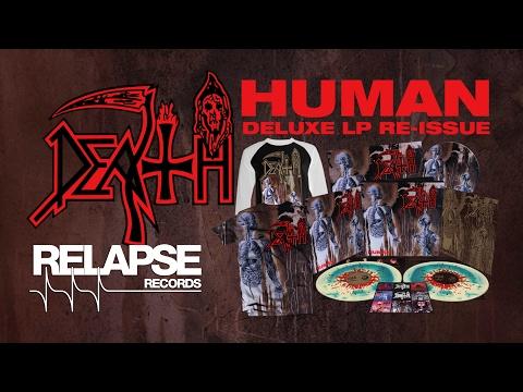 DEATH - 'Human' Deluxe Vinyl Reissue Trailer