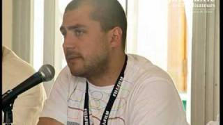 "Interview de Kamen Kalev pour ""Eastern Plays"" - Cannes 2009"