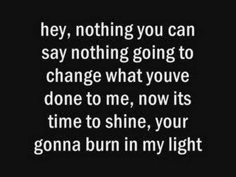 Mercy Drive - burn in my light
