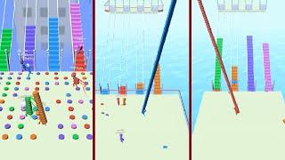 Bridge Race Map Control: 100.00% [All Levels] screenshot 3