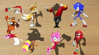 Wrong Body Mixup Sonic Boom Scramble