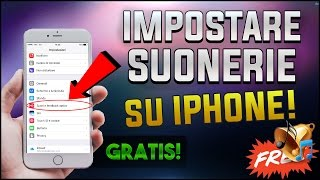 Tutorial - Impostare CANZONI come SUONERIE su iPhone! (NO Jailbreak/PC) (2017) [ITA]