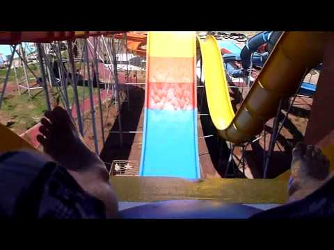 aqua fun club marrakech  waterslides