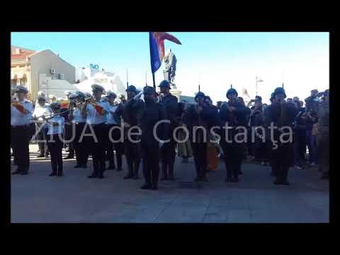 Paradă impresionantă la Constanța. Sute de elevi, militari, sportivi și jandarmi