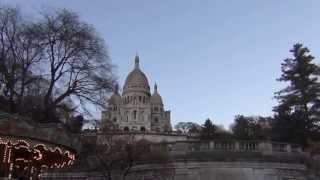 Знамение Божье на Монмартре . По молитве все затянутое небо быстро очистилось!