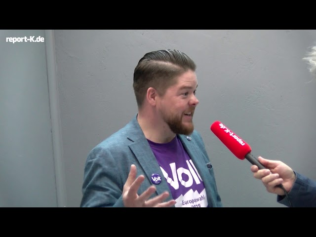 Europawahl 2019: Friedrich Jeschke, Volt Europa