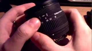 Sigma 18-50 mm 1:3,5-5,6 DC Nikon AF
