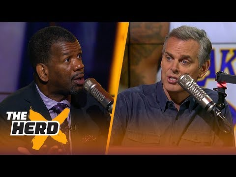 Rob Parker on LeBron's arrival in LA, Magic recruiting 'The King' | NBA | THE HERD