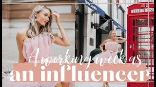 A WORKING WEEK OF AN INFLUENCER // Fashion Mumblr Weekly Vlog