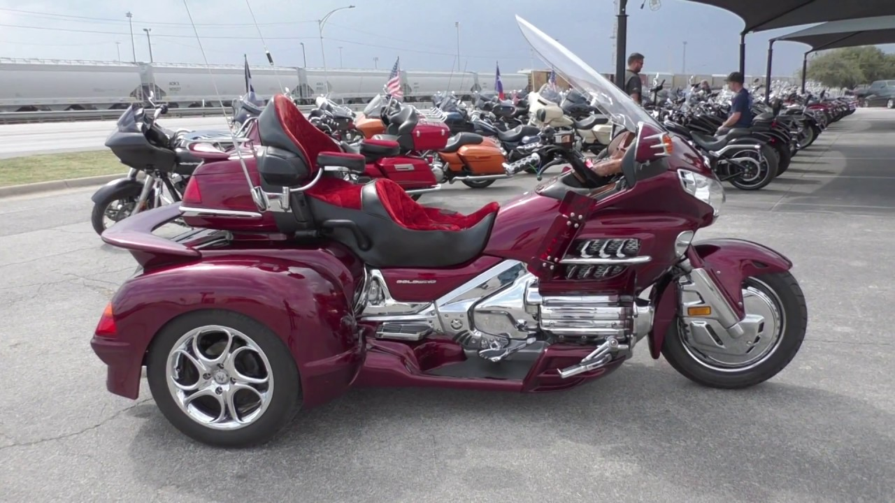 402014 - 2005 Honda Gold Wing 30th anniv With Hannigan trike conv  - Used  motorcycles for sale