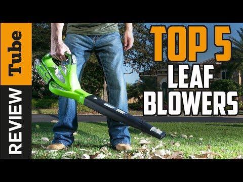 ✅Leaf Blower: Best Leaf Blower 2018 (Buying Guide)
