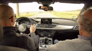 AUDI A6 allroad 3.0 BiTDI 313 ch Biturbo 250 km/h First drive