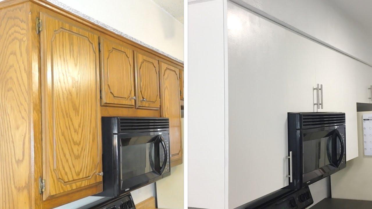 How To DIY Modern Kitchen Cabinet Remodel  Update