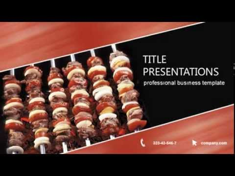Barbecue recipes powerpoint template presentation youtube barbecue recipes powerpoint template presentation forumfinder Image collections