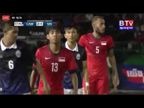 Cambodia vs Singapore 28/07/2016 (CAM 2 : 1 SIN)