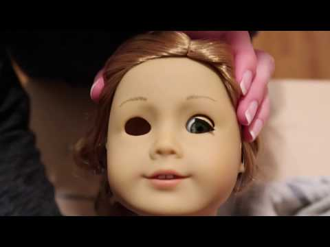 How To Swapping American Girl Doll Eyes!! {Classic Mold}