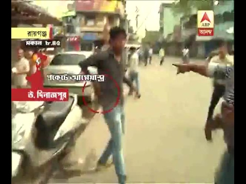 Municipal Election: Goons seen with weapons outside booth, Congress candidate forcefully p