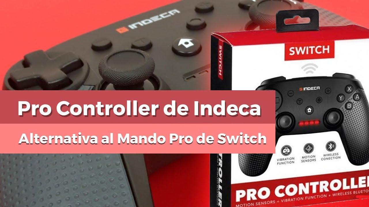 indeca switch  Indeca Pro Controller - Alternativa al Mando Pro de Nintendo Switch ...