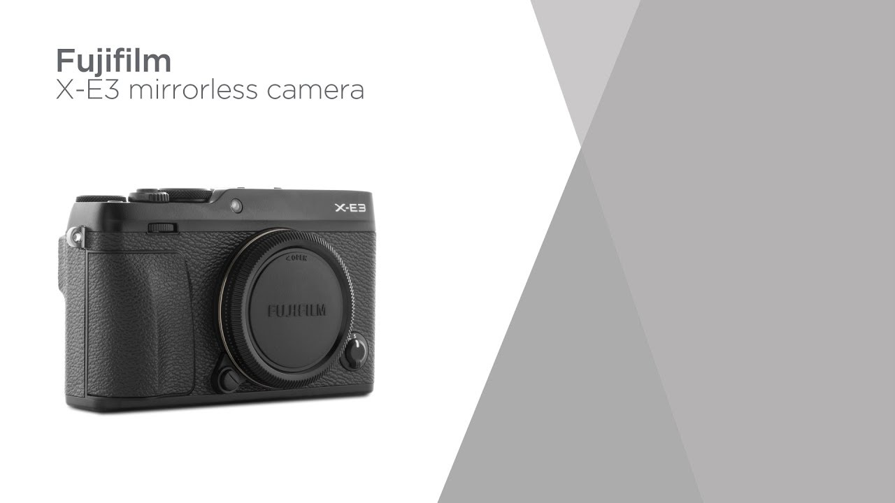 Fujifilm X E3 Mirrorless Camera Body Only Product Overview Xt2 Currys Pc World