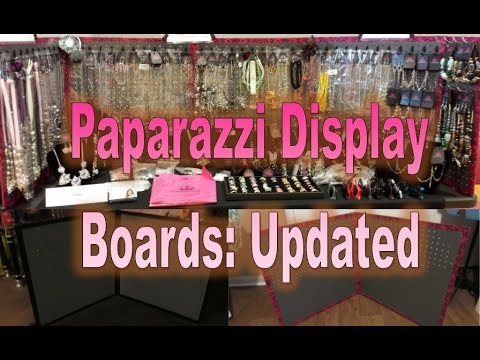 Paparazzi Display Boards Updated Youtube