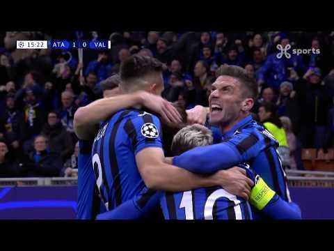 Champions League 19.02.2020 / Highlights Nl/ Atalanta Bc – Valencia Cf