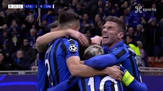 Champions League 19.02.2020 / HIGHLIGHTS NL/ Atalanta BC - Valencia CF