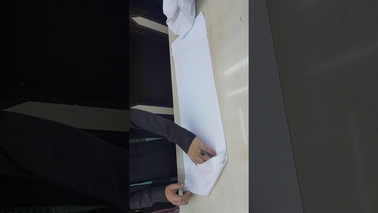 طريقة قص الثوب السعودي Youtube