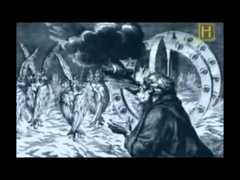 OVNIS EN LA BIBLIA Documnetal History tv Channel ufos in the bible chariots of god