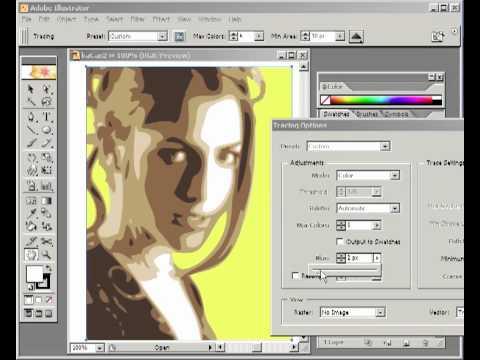 Inside Adobe Illustrator CS - LIVE TRACE