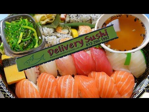 Live Stream #57: Ottawa Delivery Sushi