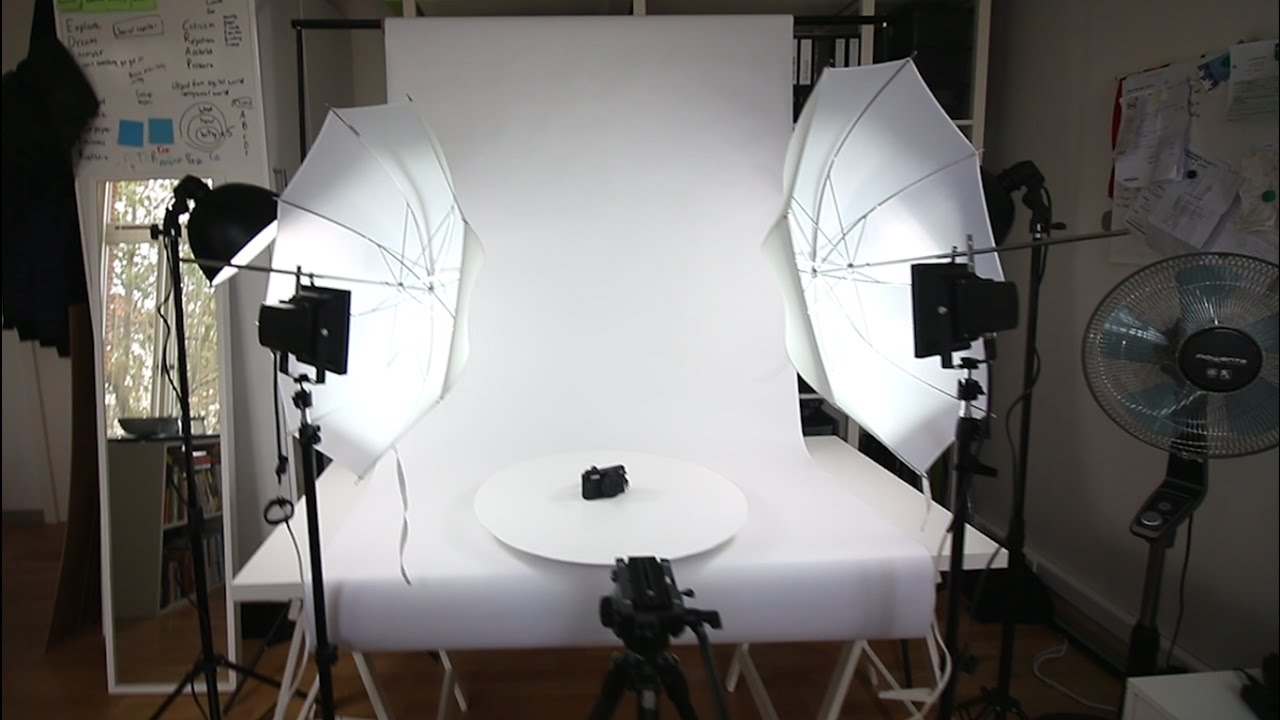 DIY HOME STUDIO FOR PHOTO AND VIDEO - VLOG #5 - YouTube