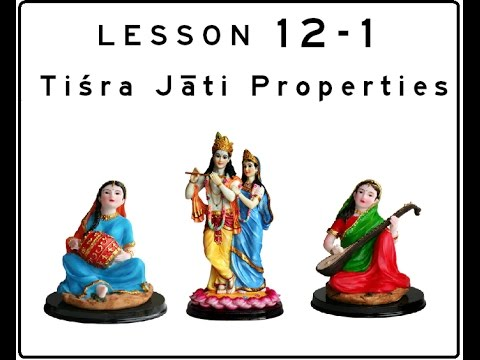 Khol (Mridanga) Lesson 12 Part 1 of 3: Introduction to Tiśra Jāti Tālas