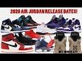 2020 AIR JORDAN RELEASE DATES + OFF-WHITE 5S RELEASING?!