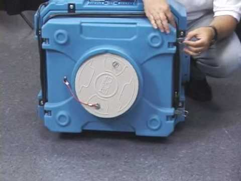 HEPA 500 from Dri-Eaz Air Scrubber - Jon-Don Video