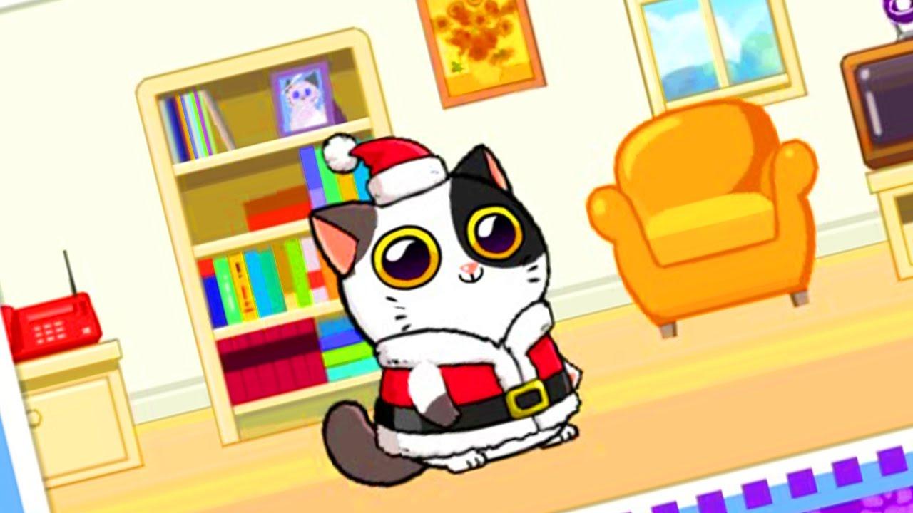 Виртуальный питомец кот игра