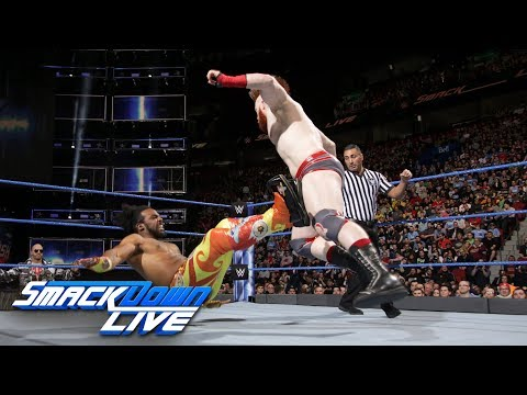 Xavier Woods vs. Sheamus: SmackDown LIVE, May 1, 2018