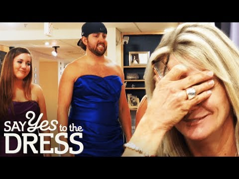 Rambunctious Groom Derails Bridesmaid Appointment! | Say Yes To The Dress Bridesmaids
