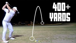Lit Range - Hitting Long Drives w/ Kyle Berkshire | GM GOLF