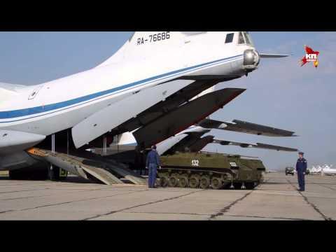 Военные развернули под Оренбургом полноценный аэродром