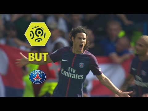 But Edinson CAVANI (42') / Paris Saint-Germain - Amiens SC (2-0) / 2017-18