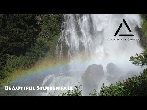 Beautiful Stuibenfall, Austria