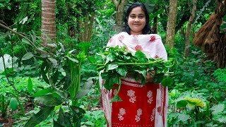 Vegetable Recipe: (Malabar Spinach) Basella Fried Recipe by Village Food Life