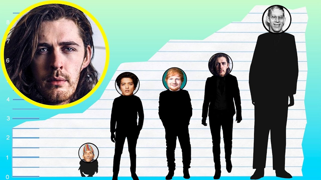 How Tall Is Hozier  Height Comparison  YouTube