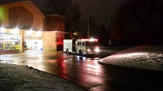 WCFD Reserve Engine Responding to Box Alarm 2/12/19