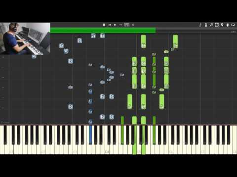 Lord Of The Rings Medley Piano Synthesia