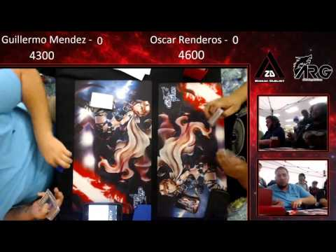 ARGCS Dallas 2016 Semi Fianls 1 Guillermo Mendez vs Oscar Re