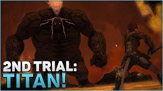Final Fantasy XIV: A Realm Reborn Gameplay | Our 2nd Trial: Titan!