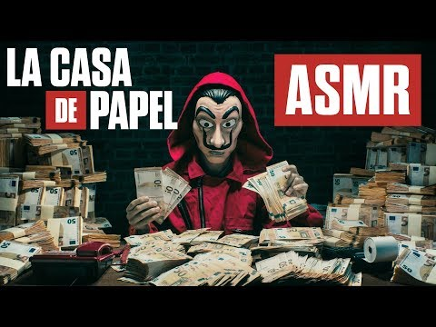 ASMR Money Heist 🏦The CRINKLY SOUNDS of 984,346,750€